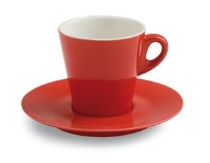 Tazza thÈ con piattino elegant mara red