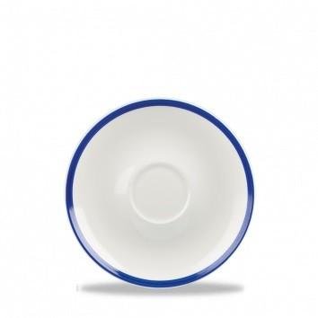 Grande coupe saucer cm 16 retro blue