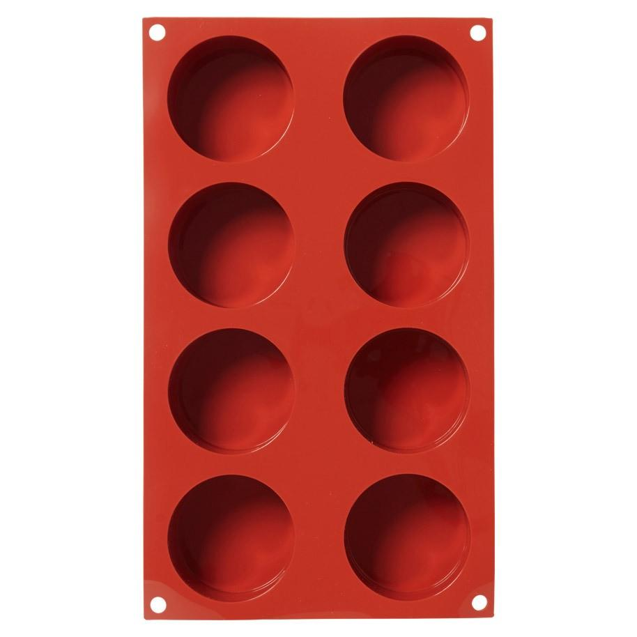 Sf119 - stampo in silicone n.8 cylinders Ø 63 h 40 mm terracotta 36.119.00.0060 c.d. 3924.90.00