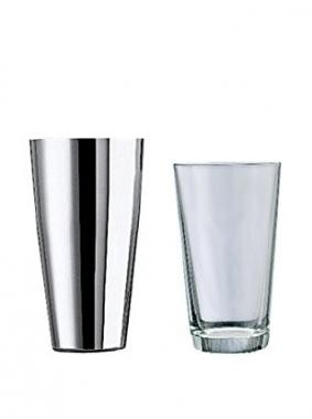 Cocktail shaker basic in acciaio inox lt 0,5